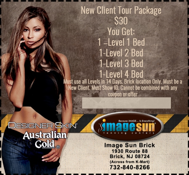 New Client Tour Package a low cost in Image Sun NJ